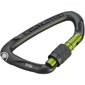 Skylotec Flint Screw Carabiner dark grey
